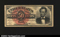 Fractional Currency:Fourth Issue, Fr. 1374 50¢ Fourth Issue Choice New. A nice Lincoln note w...