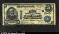 National Bank Notes:Michigan, Iron River, MI - $5 1902 Plain Back Fr. 600 The First NB...