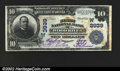 National Bank Notes:Nebraska, Wood River, NE - $10 1902 Date Back Fr. 618 The First NB...