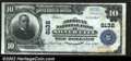 National Bank Notes:New Mexico, Silver City, NM - $10 1902 Plain Back Fr. 628 American Na...