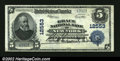 National Bank Notes:New York, New York, NY - $5 1902 Plain Back Fr. 609 Grace NB Ch. ...