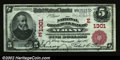 National Bank Notes:New York, Albany, NY - $5 1902 Red Seal Fr. 587 The National Commer...