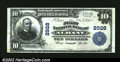 National Bank Notes:Oregon, Albany, OR - $10 1902 Plain Back Fr. 624 The First NB C...