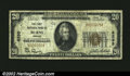 National Bank Notes:Oregon, Burns, OR - $20 1929 Ty. 1 The First NB Ch. # 6295