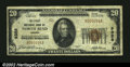 National Bank Notes:Oregon, North Bend, OR - $20 1929 Ty. 1 The First NB Ch. # 9328...