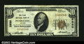 National Bank Notes:Oregon, Pendleton, OR - $10 1929 Ty. 1 The First NB Ch. # 2630...