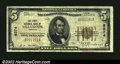 National Bank Notes:Oregon, Tillamook, OR - $5 1929 Ty. 1 The First NB Ch. # 8574