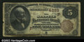 Seattle, WA - $5 1882 Brown Back Fr. 471 The Seattle NB Ch. # (P)4229 A very tough early Washington type and denominati...