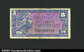 Military Payment Certificates: , Military Payment Certificate, Series 611 5¢, VF+. ...