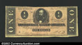 Confederate Notes:1864 Issues, 1864 $1 Clement C. Clay, T-71, VF. ...