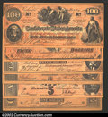 Confederate Notes:Group Lots, A group of modern reproductions of Confederate notes, including...