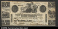 Obsoletes By State:Maryland, 1840 $5 Chesapeake & Ohio Canal Company, Frederick, MD, VF. ...