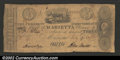 Obsoletes By State:Ohio, 1836 $3 Bank of Marietta, OH, VG, with a tear in the top edge. ...