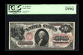 Large Size:Legal Tender Notes, Fr. 26 $1 1875 Legal Tender PCGS Superb Gem New 67PPQ. The PPQdesignation from PCGS is the equivalent of the EPQ (Exception...