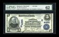 National Bank Notes:Maryland, Baltimore, MD - $5 1902 Plain Back Fr. 601 The NB of Commerce Ch. #(E)4285. As is so often the case from here a tightly...