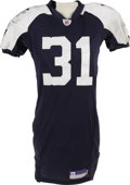 Football Collectibles:Uniforms, 2006 Roy Williams Game Worn Throwback Uniform. The 2002 first round pick out of Oklahoma has proven to be a fine choice for...