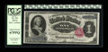 Large Size:Silver Certificates, Fr. 223 $1 1891 Silver Certificate PCGS Superb Gem New 67PPQ. A gorgeous Martha, with broad, even margins, bold original emb...