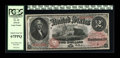 Large Size:Legal Tender Notes, Fr. 43 $2 1874 Legal Tender PCGS Superb Gem New 67PPQ. Broadlymargined, with impeccable colors and strictly original paper ...