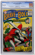 Silver Age (1956-1969):Adventure, The Brave and the Bold #6 (DC, 1956) CGC FN- 5.5 Cream to off-white pages....