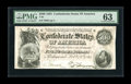 Confederate Notes:1864 Issues, T64 $500 1864. Plenty of embossing can be seen on this note that has some waviness present graded PMG Choice Uncirculated ...