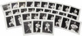 "Autographs:Photos, 1967 St. Louis Cardinals Signed Photographs Lot of 31. A completeset of team-issued 8x10"" black and white photographs of t..."