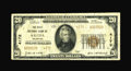 National Bank Notes:Colorado, Salida, CO - $20 1929 Ty. 2 The First NB Ch. # 4172. This notebears the last bank signature combination used from here,...
