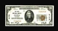 National Bank Notes:Colorado, Salida, CO - $20 1929 Ty. 1 The First NB Ch. # 4172. A secondlovely example. Like its predecessor, it too bears the sig...