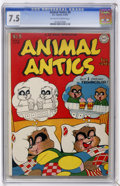 Golden Age (1938-1955):Funny Animal, Animal Antics #8 (DC, 1947) CGC VF- 7.5 Off-white to whitepages....
