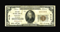 National Bank Notes:Colorado, Salida, CO - $20 1929 Ty. 1 The First NB Ch. # 4172. This evenlycirculated $20 bears the first signature combination fo...