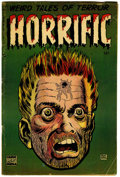 Golden Age (1938-1955):Horror, Horrific #3 (Harwell, 1953) Condition: VG....