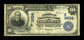 National Bank Notes:Arkansas, Fort Smith, AR - $10 1902 Date Back Fr. 618 The American NB Ch. # (S)3634. A decent Third Charter Date Back from this le...