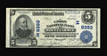 National Bank Notes:Pennsylvania, Mount Carmel, PA - $5 1902 Plain Back Fr. 601 The Union NB Ch. #(E)8393. Strong stamped signatures are noted on this li...
