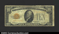 Small Size:Gold Certificates, 1928 $10 Gold Certificate, Fr-2400, VG. ...
