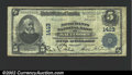 National Bank Notes:Maryland, Baltimore, MD - $5 1902 Plain Back Fr. 606 Merchants Nati...