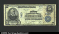 National Bank Notes:Maryland, Baltimore, MD - $5 1902 Plain Back Fr. 606 First National...