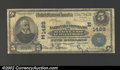 National Bank Notes:Maryland, Baltimore, MD - $5 1902 Date Back Fr. 590 National Union ...