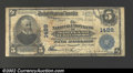 National Bank Notes:Maryland, Baltimore, MD - $5 1902 Plain Back Fr. 598 National Union...