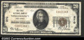 National Bank Notes:Kentucky, Glasgow, KY- $20 1929 Ty. 1 The Citizens NB Ch. # 8439...