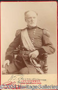 Autographs, William T Sherman