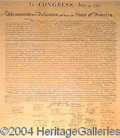 Autographs, The Declaration of Independence