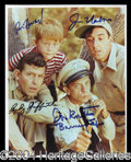 Autographs, The Andy Griffith Show