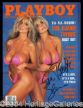 Autographs, The Barbi Twins
