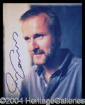 Autographs, James Cameron