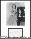 Autographs, Olivia de Havilland