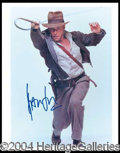 Autographs, Harrison Ford