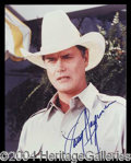 Autographs, Larry Hagman