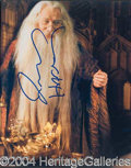 Autographs, Richard Harris