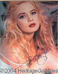Autographs, Traci Lords
