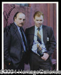 Autographs, NYPD Blue