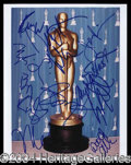 Autographs, Oscar Winners and Nominees